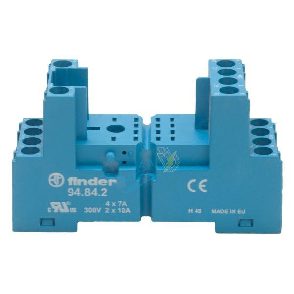 رله کمکی فیندر 110VAC و پایه 3