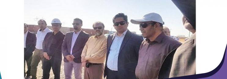 مدیر عامل برق حرارتی از نیروگاه های درحال احداث زنجان بازدید کرد