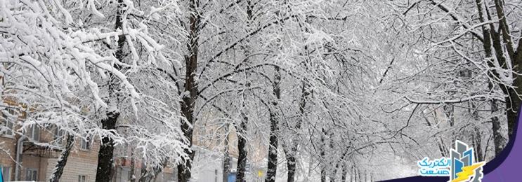 تولید برق از بارش برف