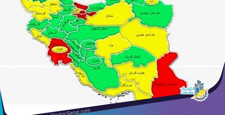 آیا نقشه برق کشور خوش مصرفی یا بد مصرفی را نشان می دهد؟