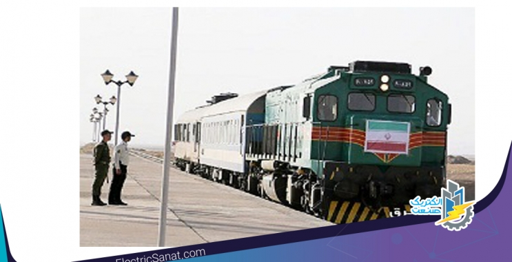 رئیس قطار باری قربانی سرقت کابل های برق راه آهن شد