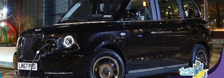 تاکسی برقی LEVC TX لندن به پاریس رسید