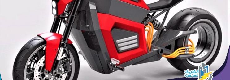 موتورسیکلت تمام برقی RMK معرفی شد