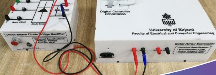 ساخت دستگاه شبیهساز آرایه خورشیدی توسط محققان داخلی