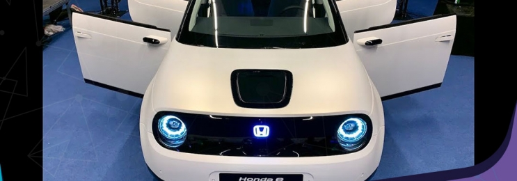 نسخه تولیدی خودرو برقی هوندا E رونمایی شد