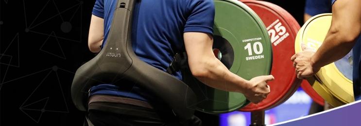 """استفاده از """"اسکلت برقی"""" در مسابقات جهانی"""