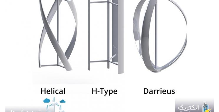 توربین بادی داریوس (Darrieus Wind Turbine)