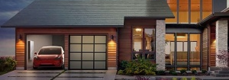 تولید برق از شیشه سقف خانه ها