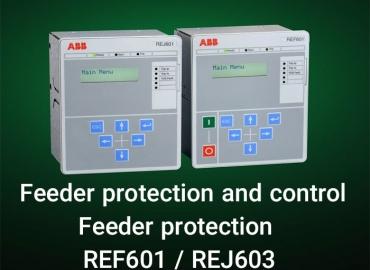 فروش رله حفاظتی ABB-REF 601 , REJ 603
