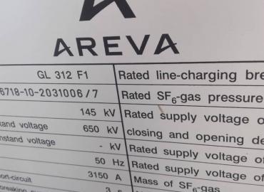 بریکر ۱۳۲ کیوولت AREVA