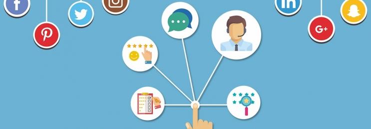 نقش رسانه های اجتماعی در توسعه ی خدمات مشتریان