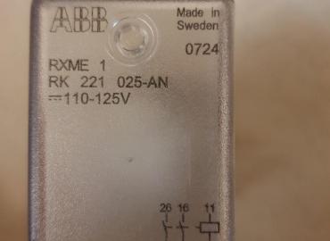 رله کمکی و سوپر ویژن-ABB